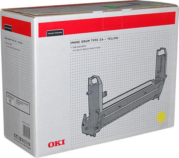 Original OKI Type C4 Image Drum 41962805 yellow - Neu & OVP