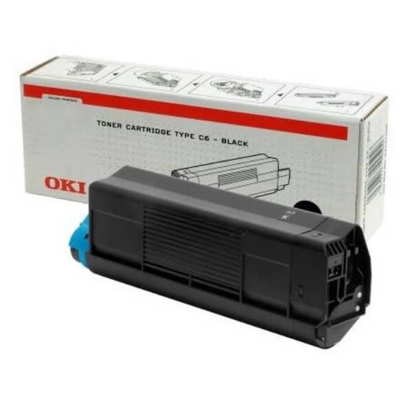 Original OKI Toner 42127408 black - Neu & OVP