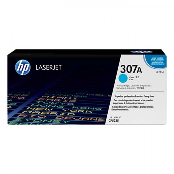 HP Laserjet Toner CE741A cyan