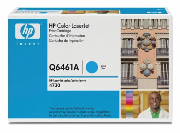 HP Color Laserjet Toner Q6461A cyan