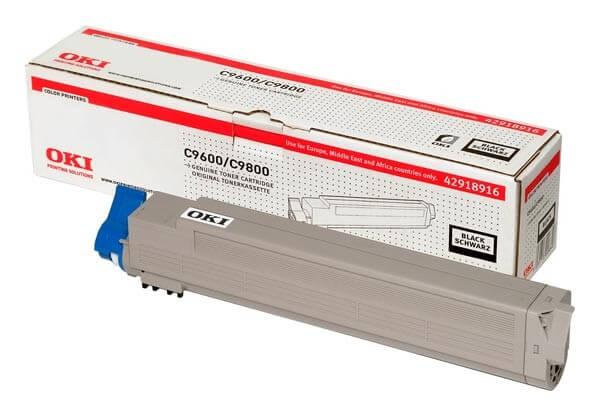 Original OKI Toner 42918916 black - reduziert