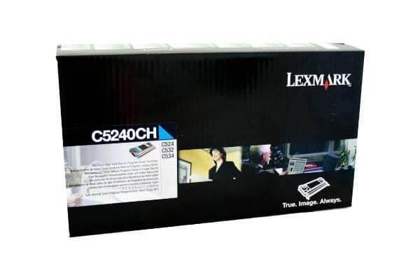 Original Lexmark Toner C5240CH cyan - Neu & OVP