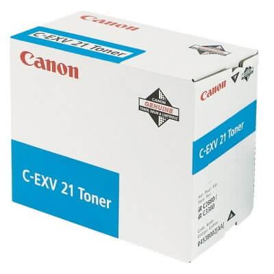 Original Canon Toner C-EXV21 Toner 0453B002 cyan - reduziert