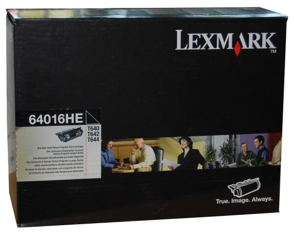 Original Lexmark Toner 64016HE black - reduziert