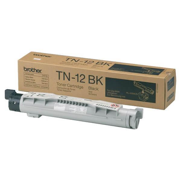 Original Brother Toner TN-12BK black - Neu & OVP