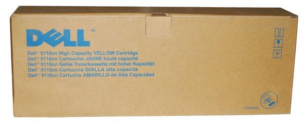 Original Dell JD750 Toner 593-10123 yellow - reduziert