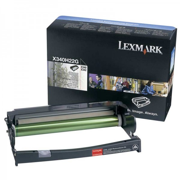Original Lexmark Trommel X340H22G black - Neu & OVP