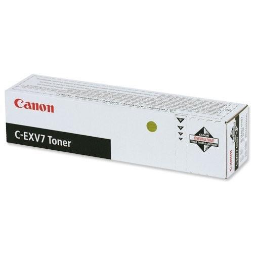 Original Canon Toner C-EXV7 Toner 7814A002 black - reduziert