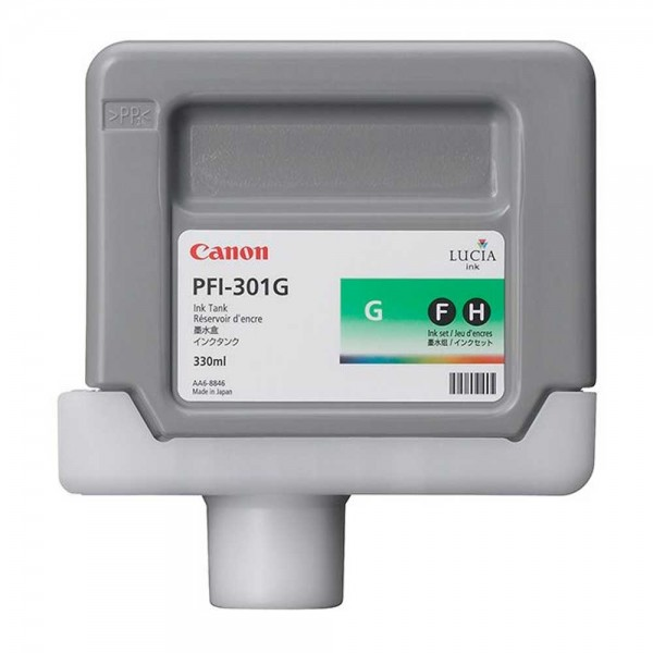 Original Canon PFI-301C Tinte 1493B001 grün - C-Ware