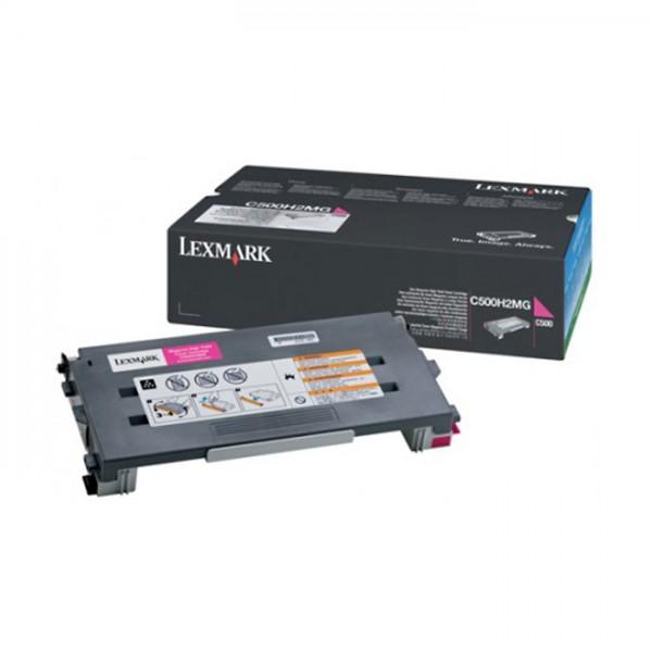 Original Lexmark Toner C500H2MG magenta - reduziert