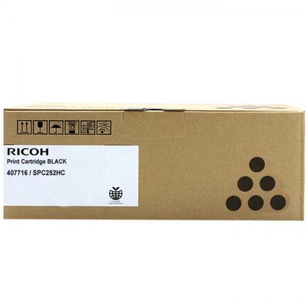 Original Ricoh SP C252 Toner 407716 black - reduziert
