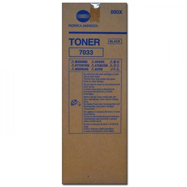 Original Konica Minolta Toner 7033 black - reduziert