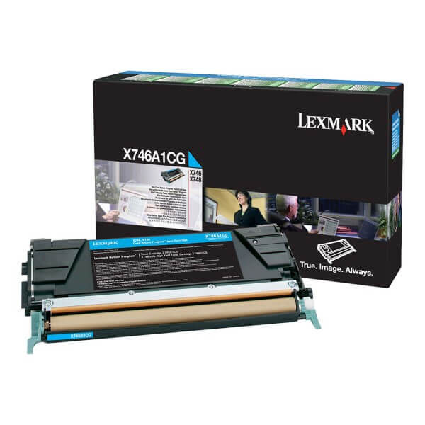 Lexmark Toner X746A1CG cyan