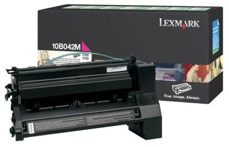 Lexmark Toner 10B042M magenta - reduziert