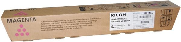 Original Ricoh MP C5000E Toner 841162 magenta - Neu & OVP