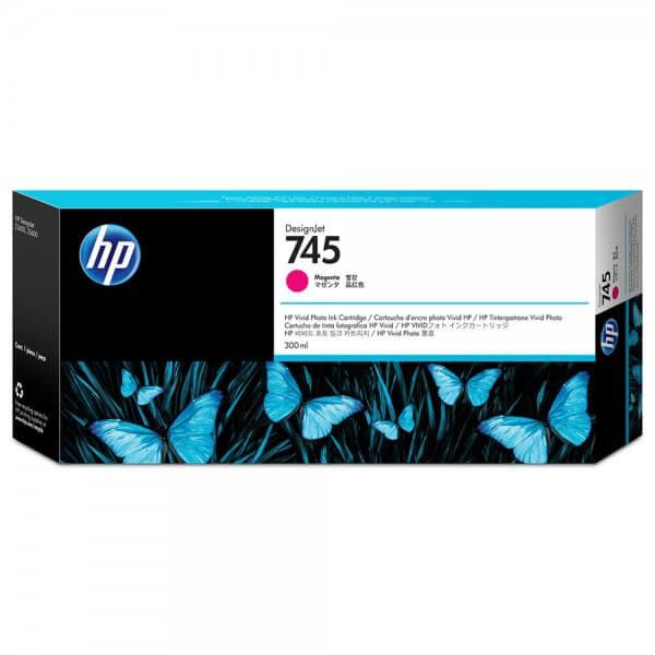 HP 745 Tinte F9K01A magenta