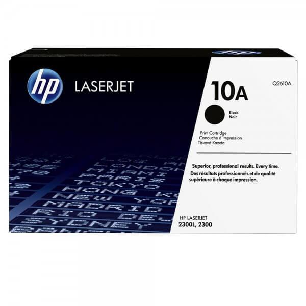 Original HP Laserjet Toner Q2610A black - Neu & OVP