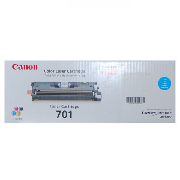 Canon 701 Toner 9286A003 cyan - reduziert