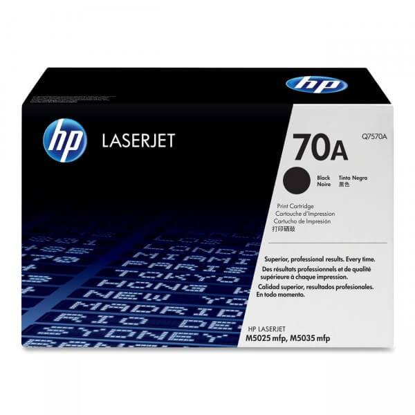 Original HP Laserjet Toner Q7570A black - Neu & OVP