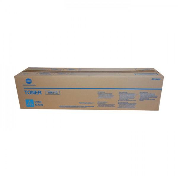 Ori. Konica Minolta Toner A070460 cyan - reduziert