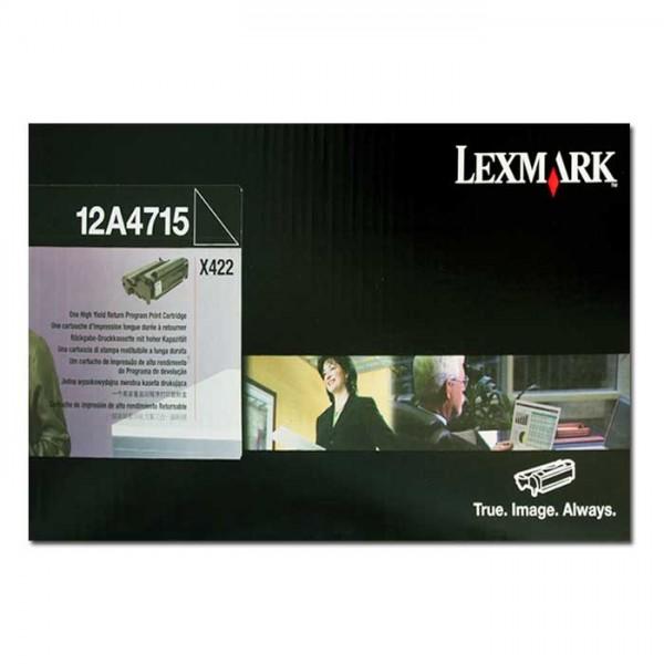 Lexmark Toner 12A4715 black