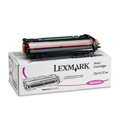 Lexmark Toner 10E0041 magenta - reduziert