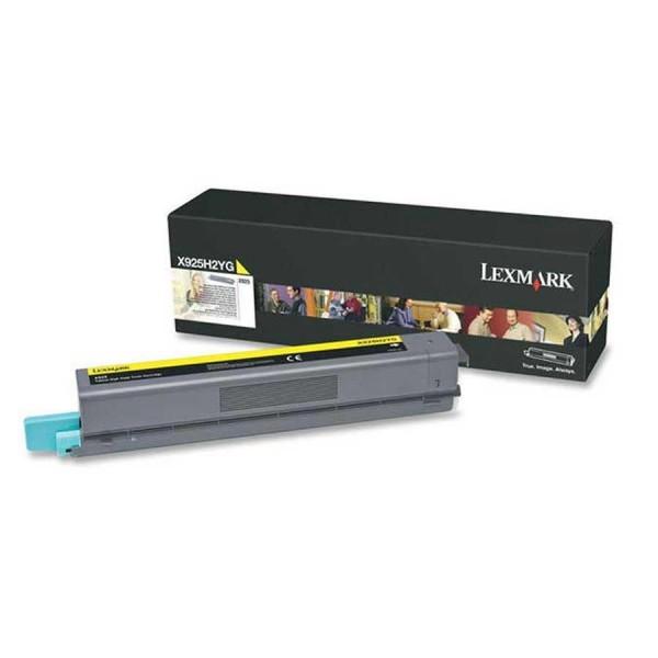 Lexmark Toner X925H2YG yellow - reduziert