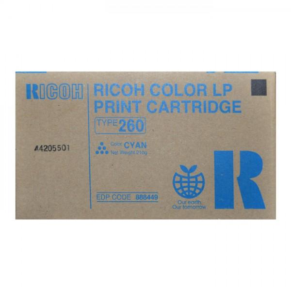 Ricoh Toner 888449 Type T260 cyan
