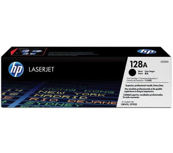 HP Toner CE320A black - reduziert