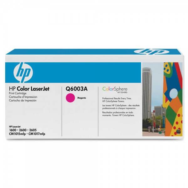 HP Color Laserjet Toner Q6003A magenta - reduziert