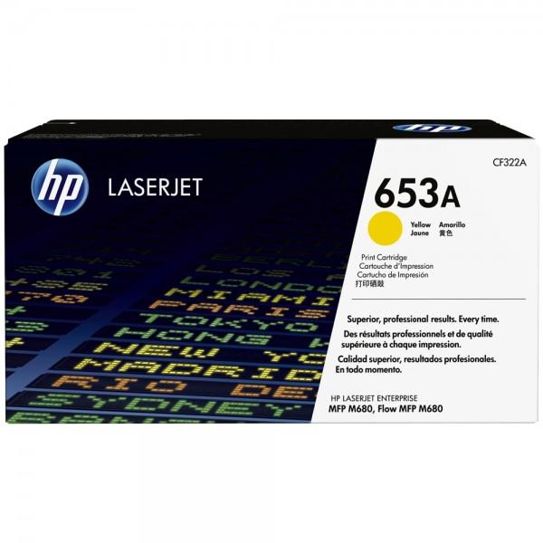HP Color Laserjet Toner CF322A yellow