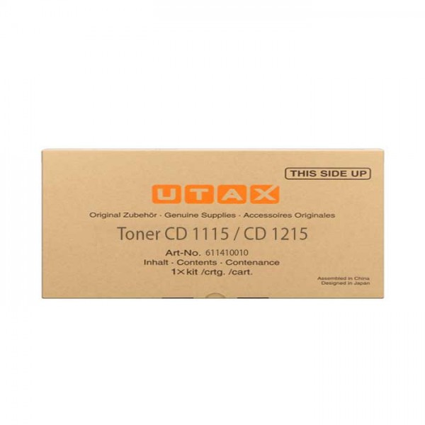 Original Utax Toner 611410010 black - Neu & OVP