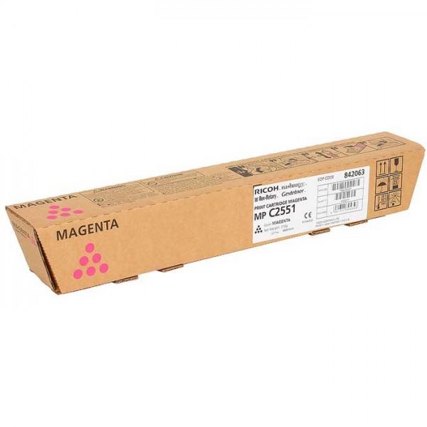 Ricoh MP C2551 Toner 842063 magenta - reduziert
