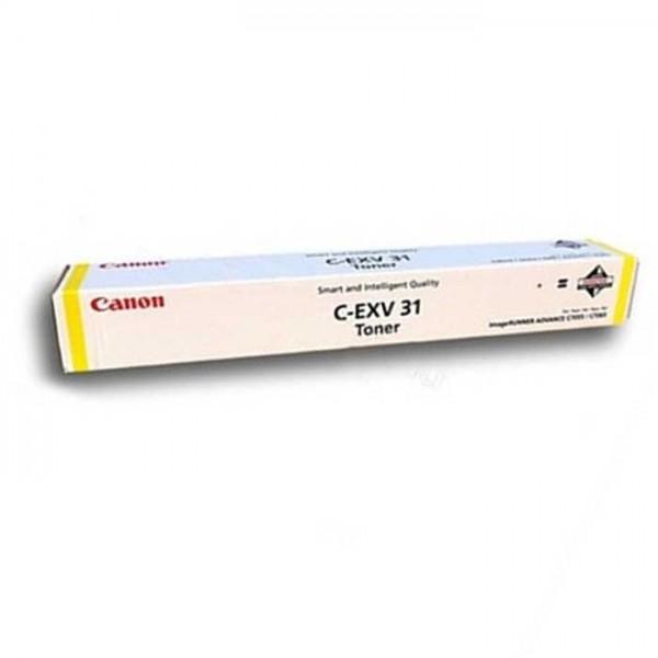 Original Canon Toner C-EXV31 Toner 2804B002 yellow - Neu & OVP