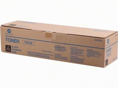 Original Konica Minolta Toner TN213K black A0D7152 - Neu & OVP