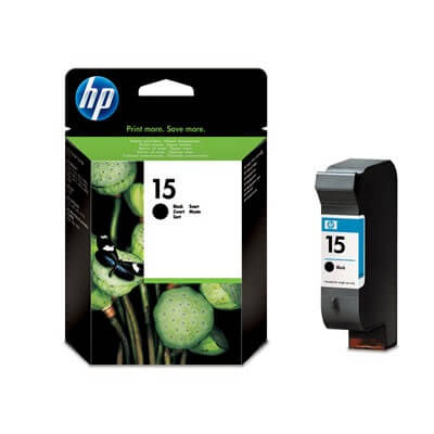 HP Nr. 15 Tinte C6615DE black