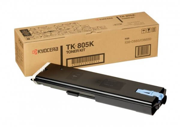 Original Kyocera Toner TK-805K black - Neu & OVP