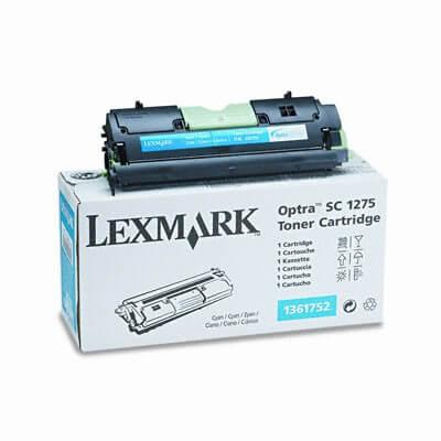 Original Lexmark Toner 1361752 cyan - reduziert