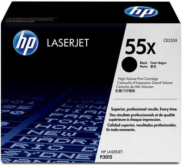 Original HP Laserjet Toner CE255X black - Neu & OVP