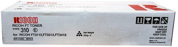 Original Ricoh Type 310 Toner 887612 - reduziert