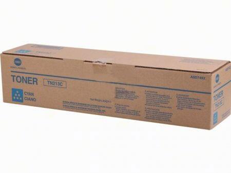 Original Konica Minolta Toner TN213C cyan A0D7452 - reduziert