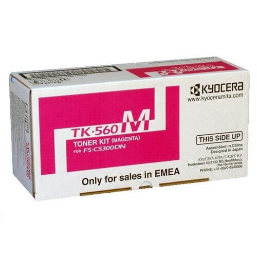 Original Kyocera Toner TK-560M magenta - reduziert