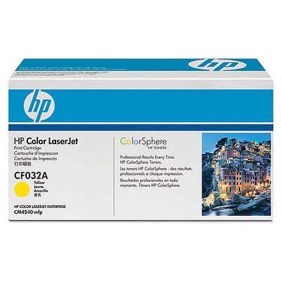 Original HP Color Laserjet Toner CF032A yellow - reduziert