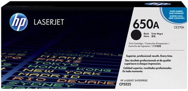 Original HP Laserjet Toner CE270a black - reduziert