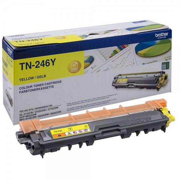Original Brother Toner TN-246Y yellow - Neu & OVP