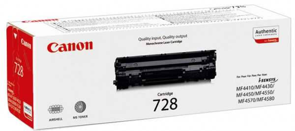 Original Canon 728 Toner 3500B002 black - Neu & OVP