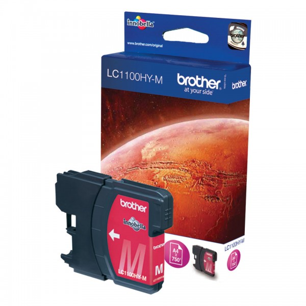Brother Tinte LC-1100HYM magenta