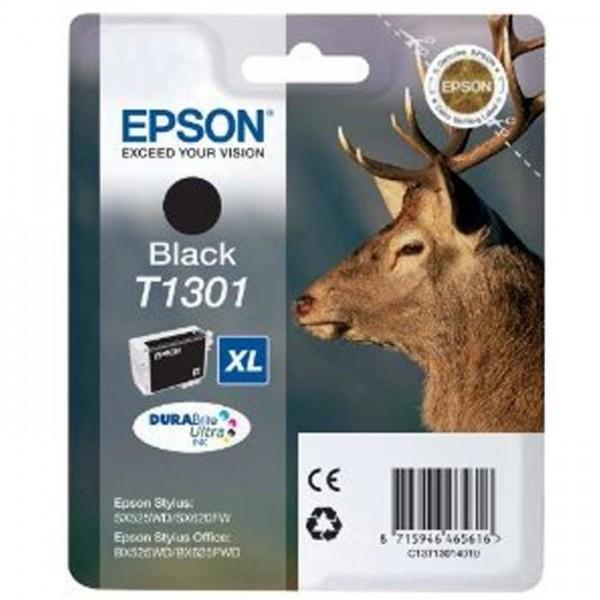 Original Epson T1301 Tinte C13T13014010 black - Neu & OVP