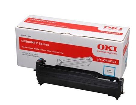OKI Bildtrommel 43460223 cyan - reduziert