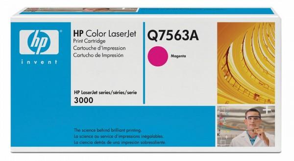 Original HP Color Laserjet Toner Q7563A magenta - reduziert